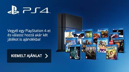 PS4 akció akár ajándék 2 játékkal