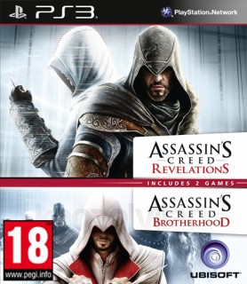 Ubisoft Double Pack - Assassin's Creed Brotherhood & Revelations PS3