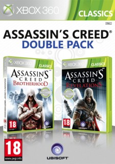 Ubisoft Double Pack - Assassin's Creed Brotherhood & Revelations (Classics) Xbox 360