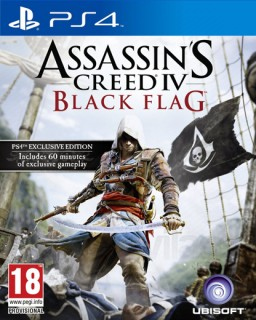 Assassin's Creed IV (4) Black Flag (használt) PS4