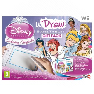uDraw Game Tablet + uDraw Studio + Disney Princess Bundle Pack
