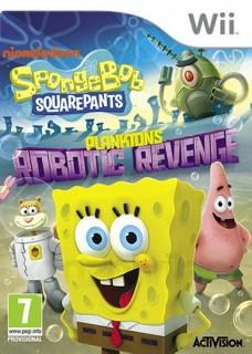 SpongeBob SquarePants Plankton's Robotic Revenge Wii