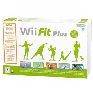 Wii Fit + Wii Fit Plus szoftverrel Wii