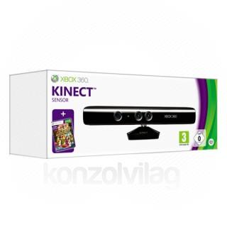 Xbox 360 Kinect mozgásérzékelő szenzor + Kinect Adventures (használt) Xbox 360