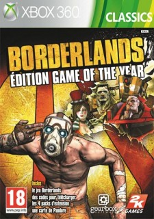 Borderlands - Game of the Year Edition (használt) Xbox 360