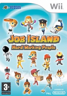 Job Island Hard Working People Wii