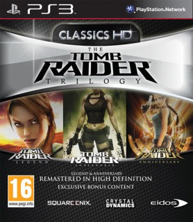Tomb Raider Trilogy Pack PS3