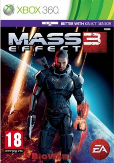 Mass Effect 3 (Kinect támogatással) (használt) Xbox 360