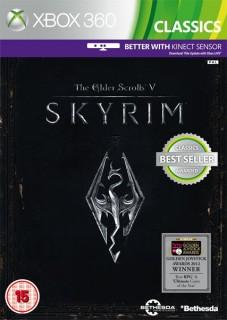 Elder Scrolls V: Skyrim (Classics) (Kinect támogatással) (használt) Xbox 360