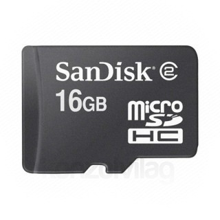 Sandisk Micro SD kártya 16GB HC DS