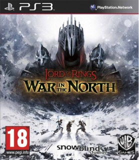 Lord of The Rings War in The North 3D Box PS3