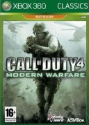 Call of Duty 4 Modern Warfare Classic XBOX 360