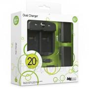 Dual Charger Xbox 360 Controllerhez (Akkumulátor szett) MULTI