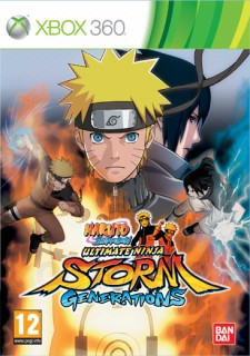 Naruto Shippuden Ultimate Ninja Storm Generations (használt) Xbox 360
