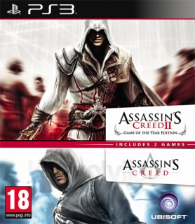 Ubisoft Double Pack - Assassin's Creed 1 & 2 PS3