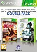 Ubisoft Double Pack - Rainbow Six Vegas 2 & GRAW 2 (Classics) XBOX 360