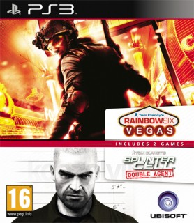 Ubisoft Double Pack - Rainbow Six Vegas & Splinter Cell Double Agent PS3