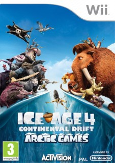 Ice Age 4 Continental Drift - Arctic Games Wii