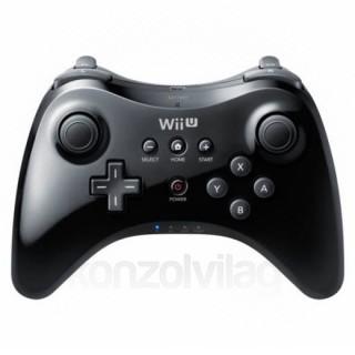 Wii U Pro Kontroller (Fekete)