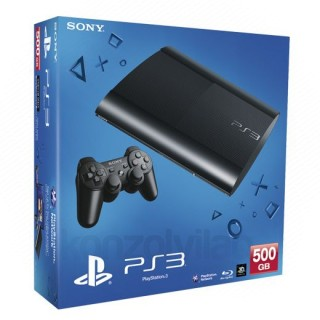 Playstation 3 (PS3 Super Slim) 500GB (használt) PS3