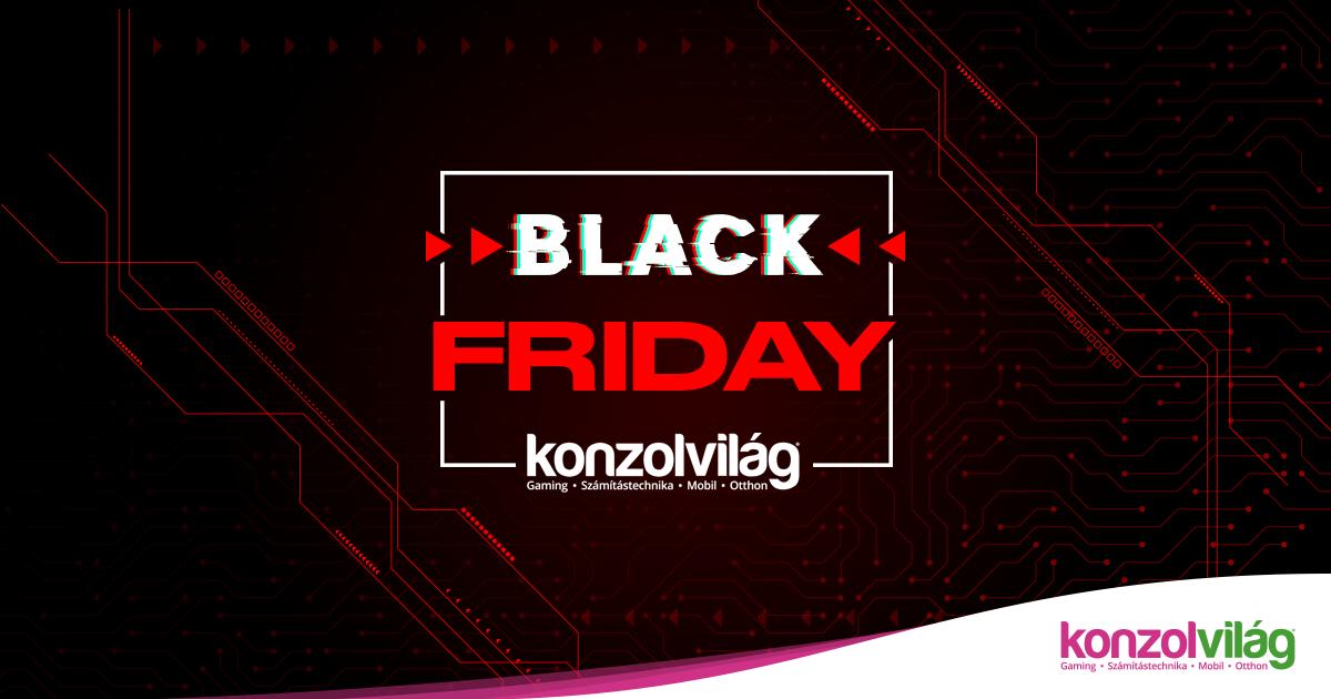 7d9bec8f01c8 Nyárindító Black Friday akció - Konzolvilág