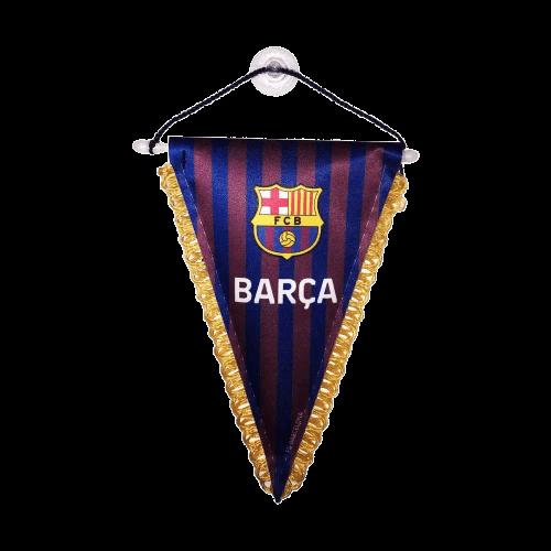 FIFA 22 ajándék Barcelona autós zászló