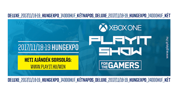 PLAYIT Deluxe kétnapos jegy