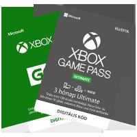 Xbox One Live feltöltőkártya